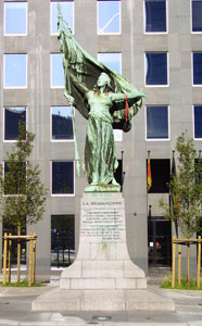 The monument of The Brabançonne, Brussels.